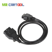 ELM327 OBD2 16Pin Extension Cable 1.5m Extension Cable 16 Pin ELM327 OBD II OBD2 Extension Cable Connector