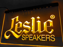 LL044- Leslie Speakers NEW Audio NR   LED Neon Light Sign    home decor  crafts