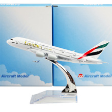 The United Arab Emirates Airline A380, 16cm, Metal Airplane Models Child Birthday Gift Models Free Shipping(China)