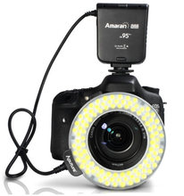 Aputure AHL-HN100 LED Macro Ring Flash Light for Nikon D7100 D5200 D800 D610 D90