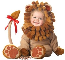 Baby Infant Dragon / Dinosaur Lion Romper Kid One Suit Animal Cosplay Costume Child autumn winter Clothing 0108