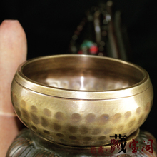 Yoga Tibetan Singing Bowl Himalayan Hand Hammered Chakra Meditation Religion Belief Buddhist supplies Home Decoration