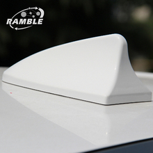 Ramble Brand For Volkswagen POLO Car Shark Fin Radio Antenna For VW Signal Aerial Refit Auto Roof Antena Hatchback Accessories(China)