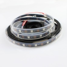 12M/lot WS2812 LED strip individually addressable 60 ic and 60leds/m slicone tube Waterproof IP67 DC5V RGB led tape(China)