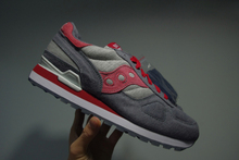 Hot Sale BAIT x Saucony Cruel World 4 Midnight Missio S70176-1 Women's Shoes Grey/Red Color(China)