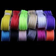 1.5M 5FT Extra Long Micro 2.0 USB Braided Fabric Data Sync Charger Cable Cords for LG HTC Samsung Galaxy S4 Android Phone