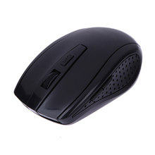 2017 Hot Sale 2.4GHz 6 Buttons 2400 DPI Optical Wireless Gaming Mouse USB Receiver Mice Cordless Game Computer PC Laptop Mice(China)