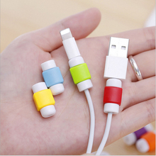 USB Data Cable Line Protector Anti Breaking Protective Sleeve For Charging Cable Wire Earphone Line For IPhone Android Samsung