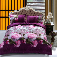 UNIHOME wholesale 2014 3D bedding printing bed sets cotton full queen size/All animals tigers lions linens / bedding quilt