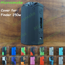 Think Vape Finder 250W TC Box Mod silicone case finder250w Evolve DNA 250 skin cover rubber sleeve sticker mod decal free ships
