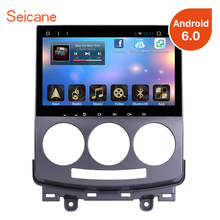 Seicane Android 6.0 HD 1080P Car DVD Radio GPS Navigation Mazda 5 Radio support 1080P Video Rearview Camera Mirror Link OBD2