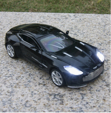 Aston Martin ONE-77 1:32 car model Alloy high quality original kids Toy car sound&light pull back miniatures free shipping