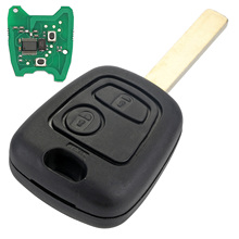 2 Buttons VA2 Blade Remote Car Key for Citroen C1 C2 C3 C4 Xsara Picasso CHIP 433MHz Car Key Shell Replacement D25