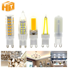 G9 LED Bulb Lamp Lights AC220V 3W /4W /5W G9 Corn Bulb Warm White/ White For Chandelier Lighting 4Pcs/Lot(China)
