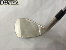 "Brand New Boyea SM6 Wedges(Champagne) Golf Wedge Golf Clubs 50""/52""/54""/56""/58""/60"" Degree Steel Shaft With Cover"