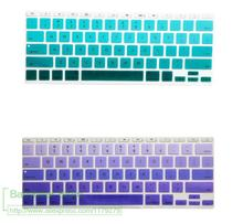 "For Apple Macbook Keyboard Cover 11""13"" 15"" 17""  Rainbow Laptop Keyboard Stickers US EU Version Silicone Skin Protector Covers"