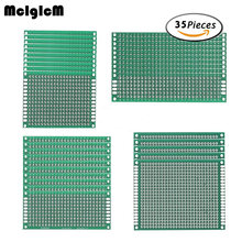 MCIGICM diy universal prototype paper double-sided pcb board manufactur Protoboard price pcb(China)