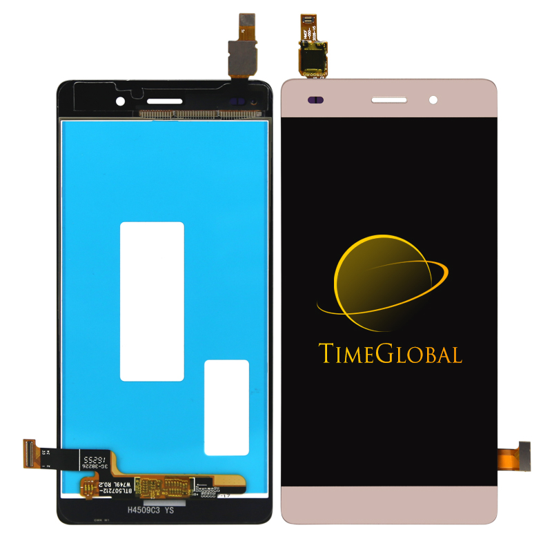 10pcs Free DHL shipping Gold Black White For Huawei Ascend P8 Lite LCD Display + Digitizer Touch Screen Assembly<br><br>Aliexpress