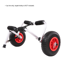 8/10inch M1515 Kayak Cart Wheel Tire Wheel Kayak Tire Trolley Cart Tire Puncture-proof Inflatable Boat Canoe Kayak Accessories