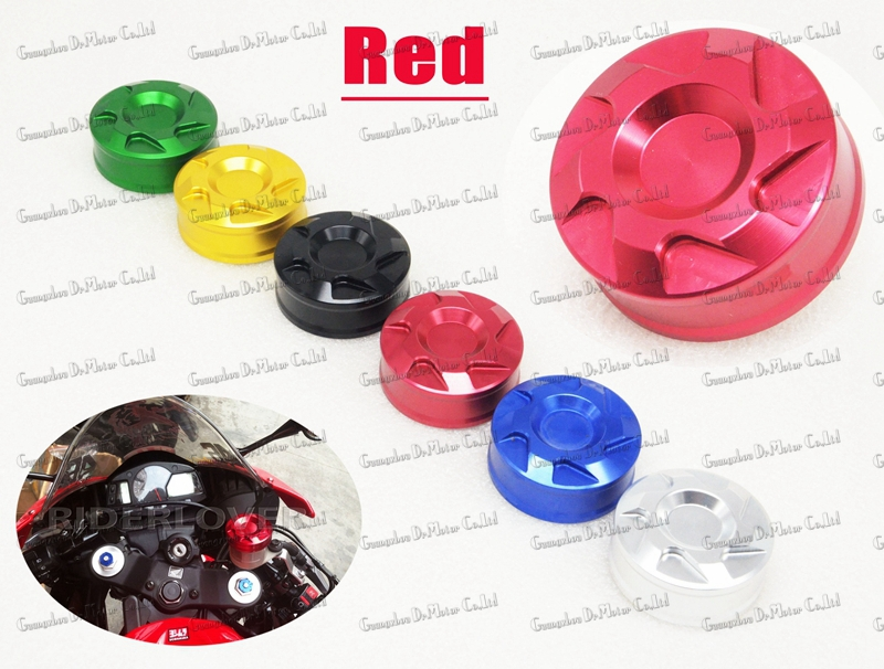 Red CNC Motorcycle Accessories Front Brake Reservoir Cover Cap For YAMAHA YZF 600 R6 1000 R1 2000-2014 <br><br>Aliexpress