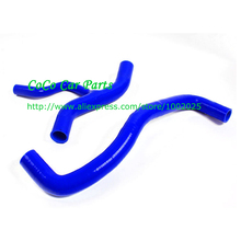 Coolant Silicone Radiator Hose For MUSTANG 4.6L 2001-2004 3ply 4.5mm thickness Radiator Silicone Hose kit 5 Years Warranty(China)