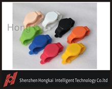 20pcs waterproof 125khz low frequency rfid plastic wristband for swimming pools Free shipping