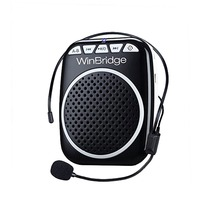 WinBridge WB001 Rechargeable Ultralight Portable Voice Amplifier Microphone Loudspeaker Pa System Speaker Personal Amplifier(China)