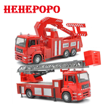 1:32 alloy model toy fire truck