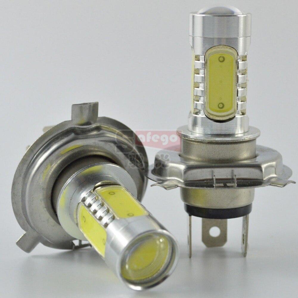 2pcs led lamp h4 led headlight h4 power led dc 12v h4 fog light lamp with len light bulbs h4 360 degree led lamp<br><br>Aliexpress