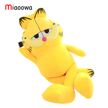 Hot Selling! 1pcs 12''  30cm Plush Garfield Cat Plush Stuffed Toy High Quality Soft Plush Figure Doll Free Shipping