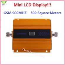 New LCD Display! Mini GSM 900Mhz Mobile Phone Signal Booster , Cell Phone Signal Amplifier ,GSM 2G Cellular Signal Repeater(China)