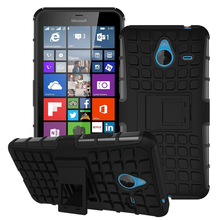 Hybrid Shock Proof Silicone + Hard Cell Phone Case Cover For Nokia Microsoft Lumia 640 XL 640XL LTE Dual SIM Case Back Cover