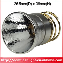 26.5mm(D) x 36mm(H) OP Aluminum Reflector + Copper Driver Pillar for 9mm SSC P7(China)