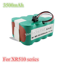 XR510 series 3500 mAh Ni-MH Vacuum Cleaner Battery pack for KV8,Cleanna XR210 series,XR510 series Robotics Battery(China)