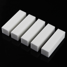 5Pcs/set White Nail Art Buffer Files Block Pedicure Manicure Buffing Sanding Polisher Finger Toe Care Sand-paper Sponge Tool