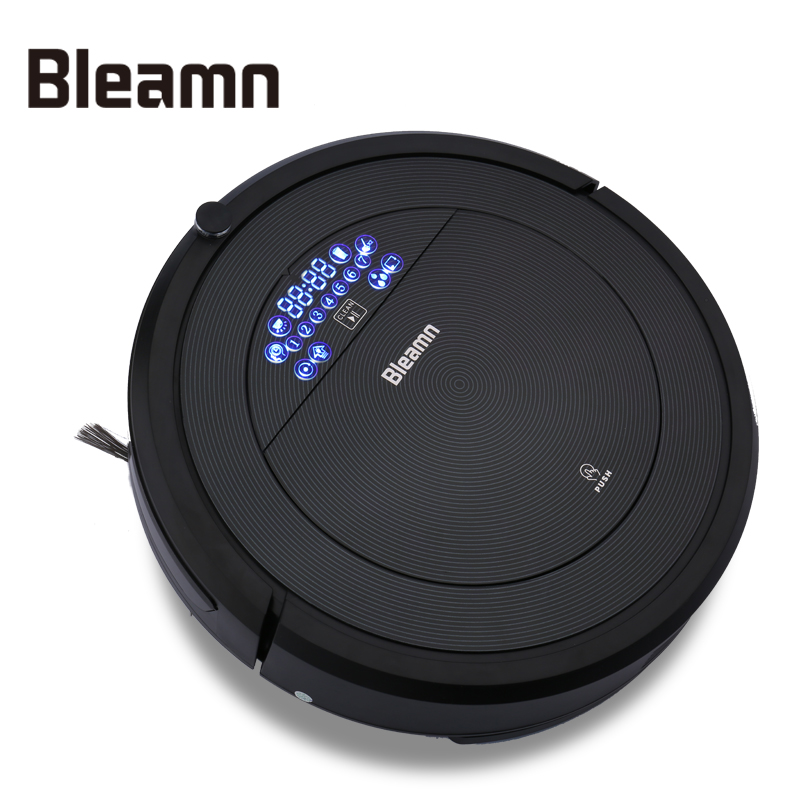 Bleamn B-Q75 Intelligent Robotic Vacuum Cleaner For Home 1200Pa Power Suction 900ml Dustbin 600ml Water Tank Self-Charge(China (Mainland))