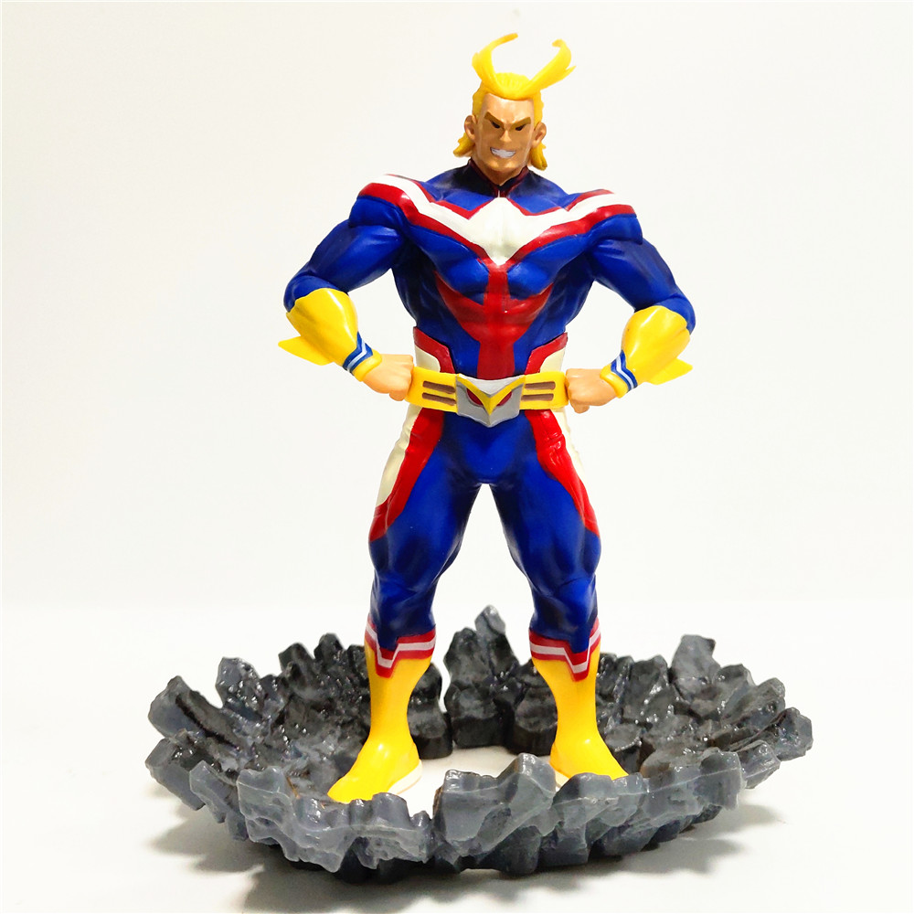 My Hero Academia All Might Age of Heroes Banpresto DIY Toys for Children Anime Action Figma Figures One for All Brinquedos Model