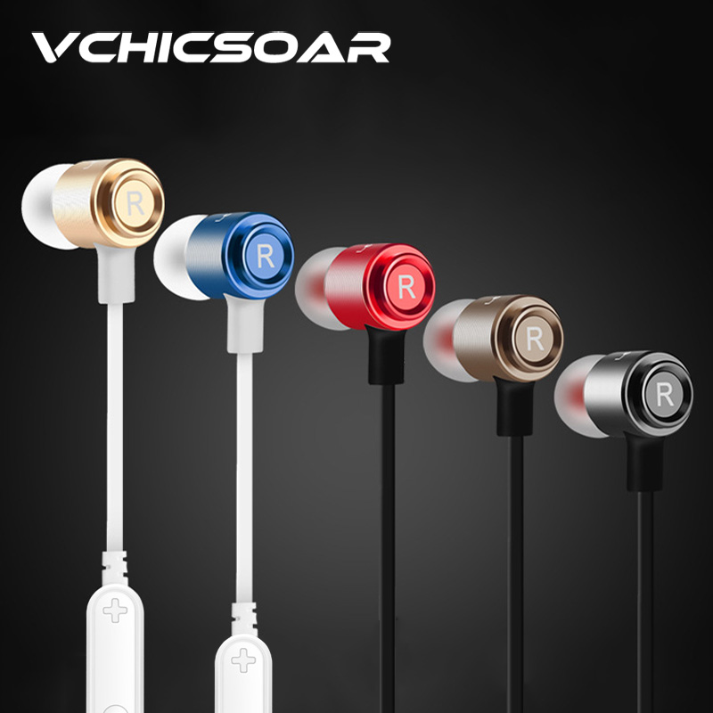 VCHICSOAR Original Sports Waterproof Earphones Bluetooth 4.1HiFi Stereo Earbuds Headphones Super Long Play Time with Microphone<br><br>Aliexpress