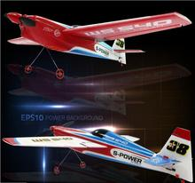 2017 new RC Glider WS9117 4ch up to 500m 43.5cm large EPP fixed wing profession stunt remote control plane fighter model toy(China)