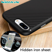 100% original Nillkin brand high end Synthetic fiber case for iphone 7 plus (5.5'') best touch feeling in stock FREE SHIPPING