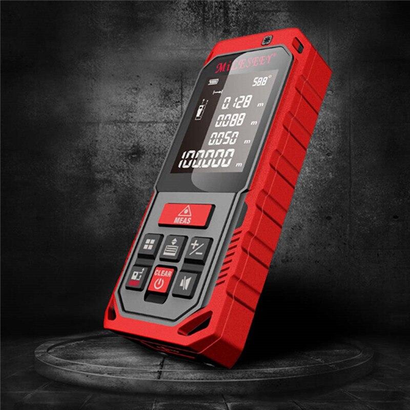 2017 New Arrival Mileseey S7 40-100m laser rangefinder measuring tool laser distance meter laser wholesale China diastimeter<br>