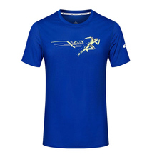2017 Men Running T Shirt Male Sportswear Short Sleeve Breathable Quick Dry Table Tennis Badminton Sports Shirts Tops Tees(China)