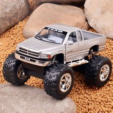 1:44 Scale Diecast Metal Car Toy, Alloy Truck Model, Pull Back Car Brinquedos For Collection, Kids Toys(China)