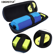 Portable Travel Carry Storage hard Case for Logitech UE BOOM 2 /1 Bluetooth Speaker and Charger Outdoor Bag Holder Zipper Pouch
