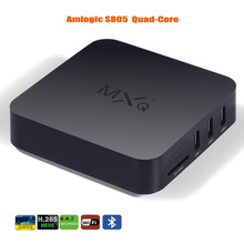 Buy Android TV Amlogic S805 Cortex-A5 XBMC Quad-Core H.264/H.265 Android 4.4 MX MXQ TV Box Miracast Airplay Smart TV Box for $43.88 in AliExpress store