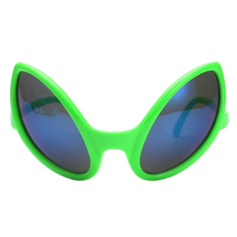 Halloween Mask Festivals Party Personality Funny Alien Modeling Sunglasses PC Material Party Supplies Decoration