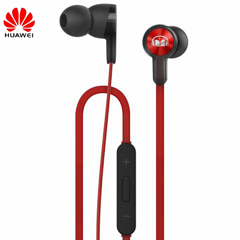 Original Huawei Honor Monster Earphone With Mic Piston Line Control In-Ear Earbud Noise Cancelling Earphone For Huawei P10 Honor<br>
