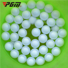 Wholesale PGM Golf Floating Ball pelotas Outdoor sports White Golf Balls Indoor Outdoor Practice Training Aid Golf Ball 30pcs