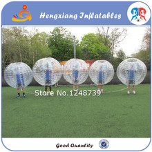 Hot Sales 1.2m Bubble Football Inflatable Bumper Ball for Soccer Game Inflatable zorb /bubble knocker ball