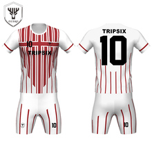sale gradient printing sublimation custom football sporting jersey new model shop(China)